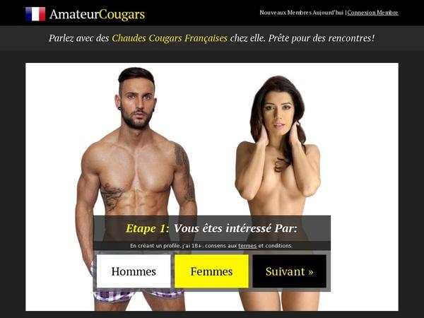 Amateurcougars.fr Member Login