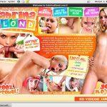 Free Video Sabrina Blond