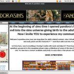 Pandora Sims Site