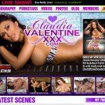 Sign Up Claudia Valentine XXX Free