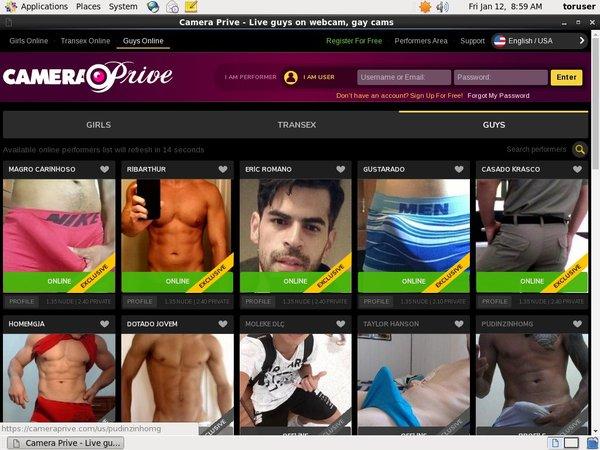 CameraPrive Gay Webcams Members