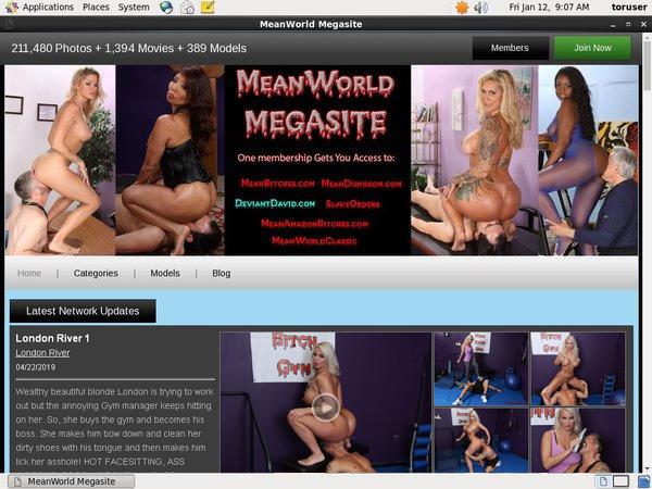 Meanworld.com Buy Tokens